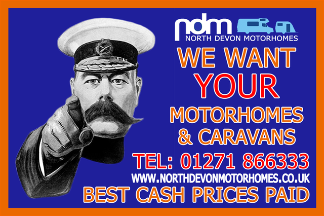 Motorhomes and Caravans Wanted